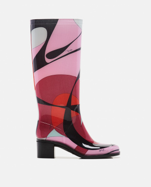 Alex boots with print
