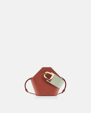 Jonny mini leather bucket bag