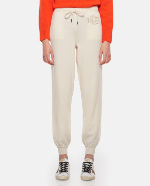 Cashmere sports trousers