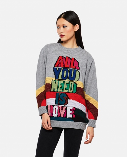 """All You Need Is Love""sweater"