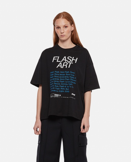 Flash Art T-shirt with print