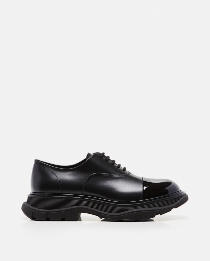 Chunky leather derby