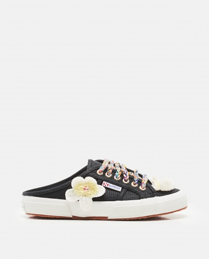 Alanui X Superga  Flowers Mule Sneakers
