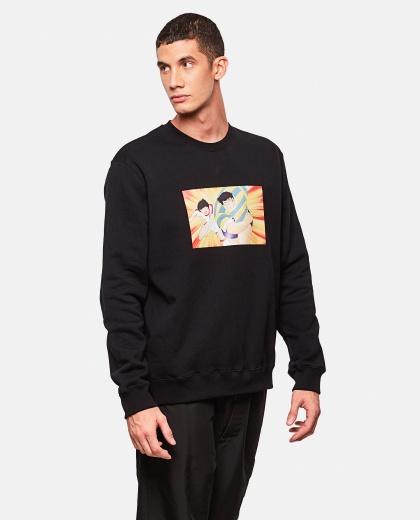 Holly and Benji Print Sweatshirt