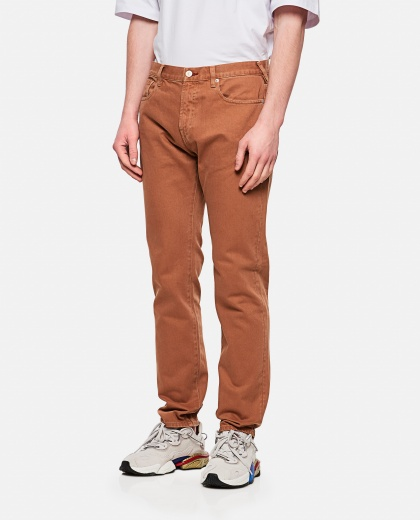 Slim fit cotton jeans