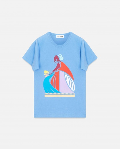 "T-shirt with ""Mum and the Girl"" Print"