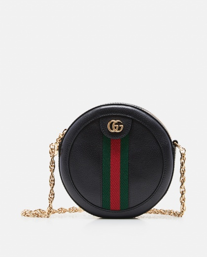 Ophidia round shoulder mini bag