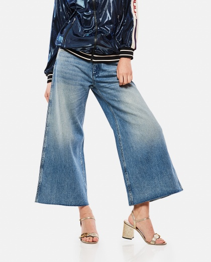 Denim Pants With Patches
