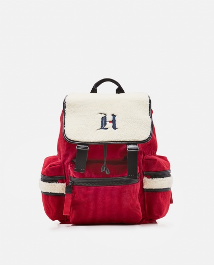 Lewis Hamilton backpack for Tommy Hilfiger