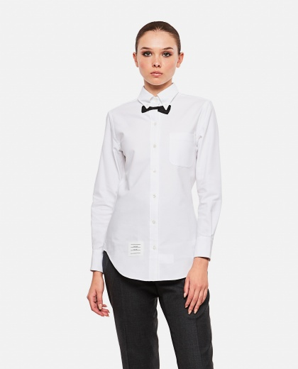 Bow tie effect  shirt