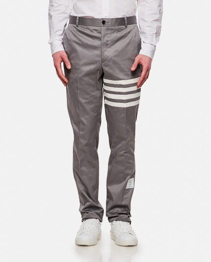 Cotton twill chino trousers