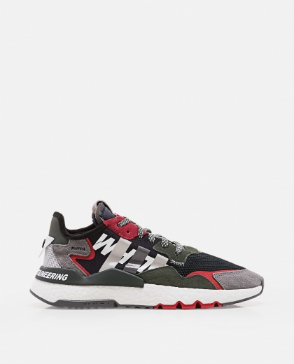 ADIDAS BY WHITE MOUNTAINEERING with color-block design
