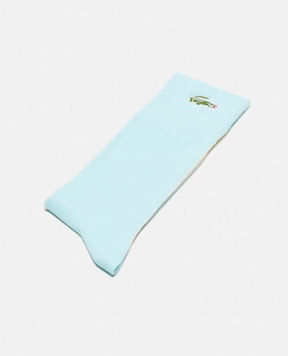 Lacoste LIVE x GOLF le FLEUR unisex socks with color block pattern