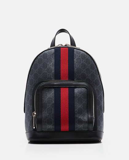 Small size GG Supreme fabric backpack