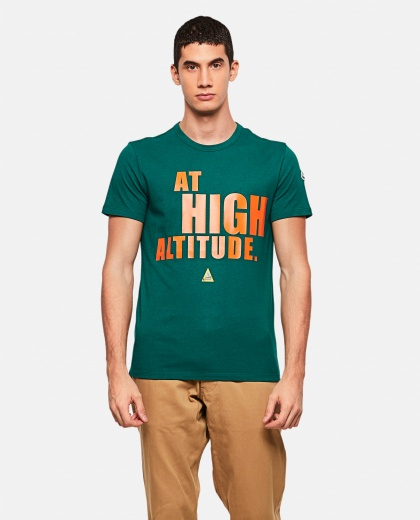 T-shirt with At High Altitude print