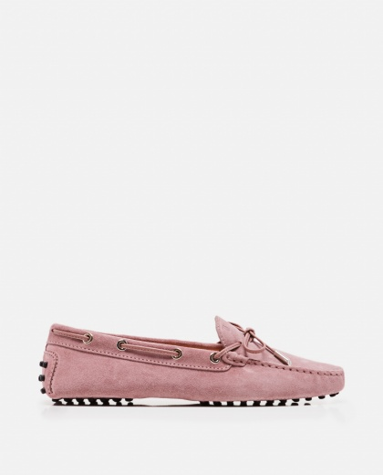 Loafers with eyelet detail