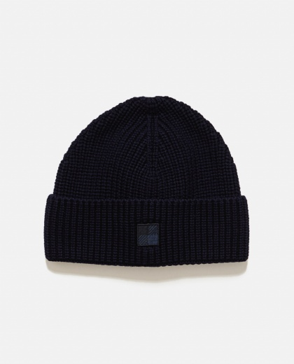 Ribbed wool cap