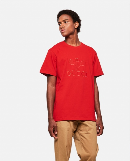 Oversized T-shirt with Gucci Tennis