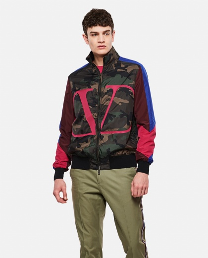 Military Fantasy Bomber Jacket