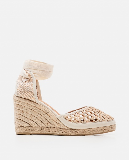 Carina espadrilles with canvas wedge