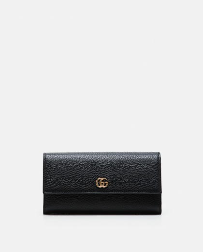 Continental Gg Marmont Leather Wallet