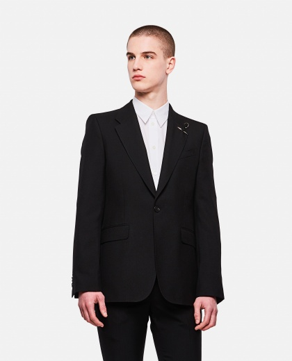 Lightweight structured jacket