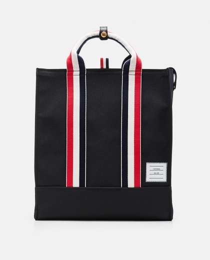 Tote bag with grosgrain strap