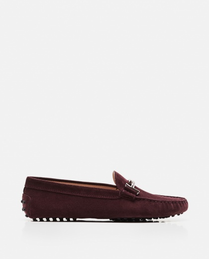 Suede Double T moccasin