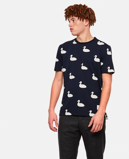 T-shirt with duck print