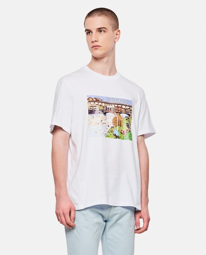 Florence T-shirt with Cartoon effect print