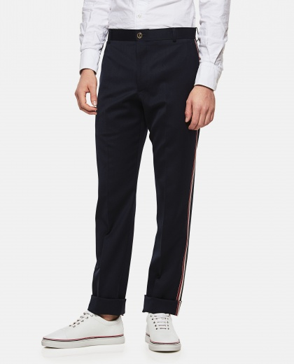 Side Tricolor Trousers