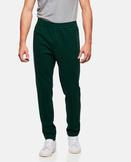 Sweatpants with frontal stitching