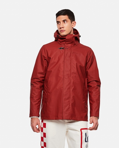 Unlined parka with hood