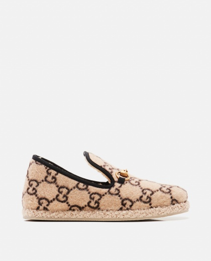 GG espadrille loafers