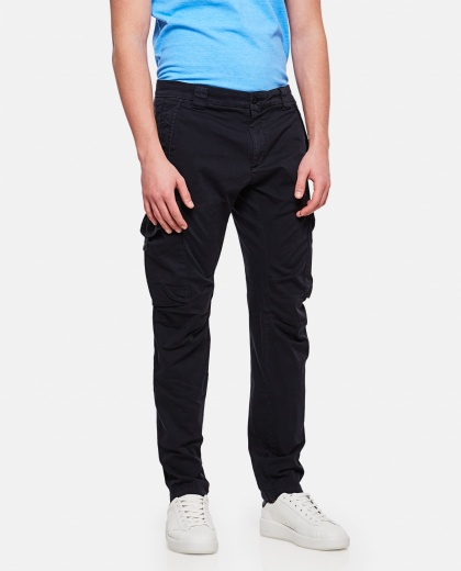 High-waisted cargo pants