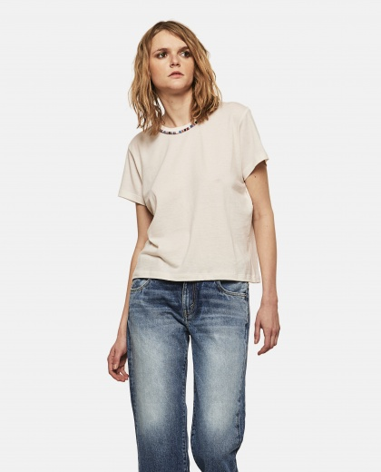 Bead-Embellished T-Shirt