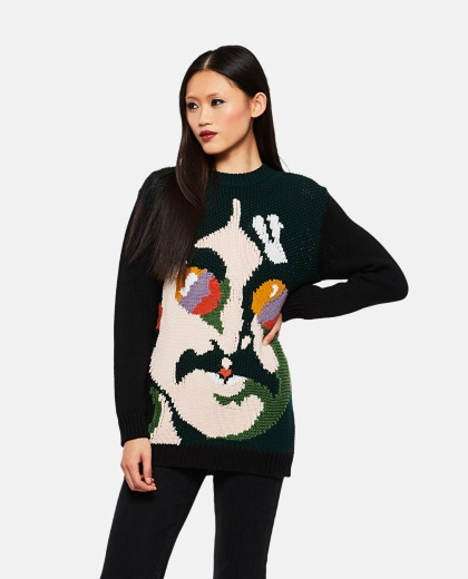 All Together Now Now John Lennon Wool Sweater
