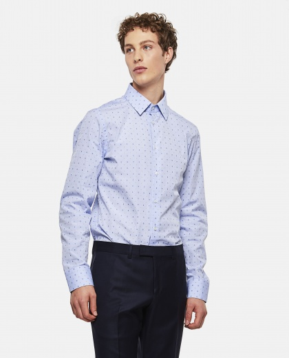 G Dot Fil Coupé Oxford Shirt