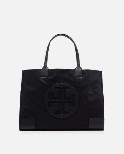 Ella black medium tote bag