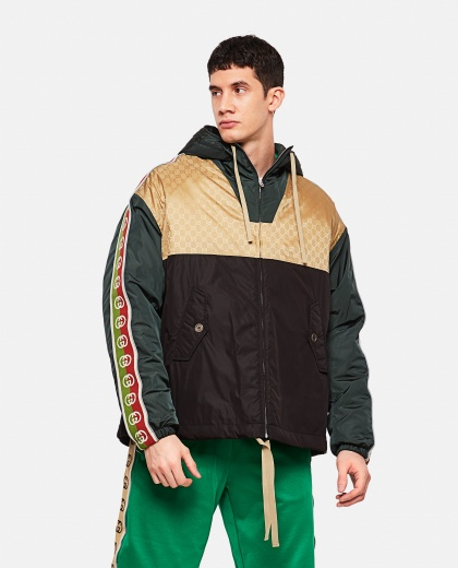 Jacket with Gucci side band