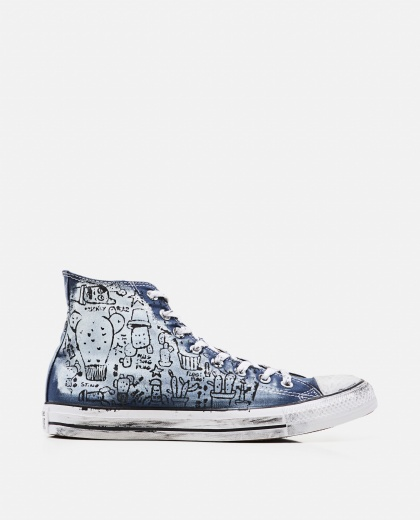 Hand-Painted Graffiti Chuck Taylor All Star High Top