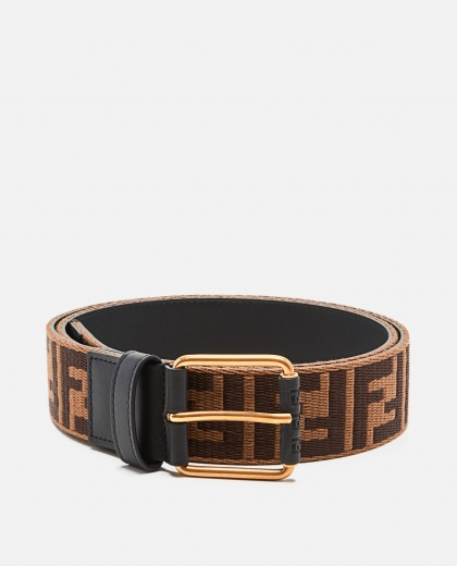 Belt with double F logo