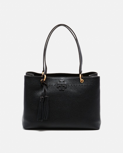 Leather Bag With Double Handles