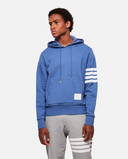 Sweatshirt with striped detail