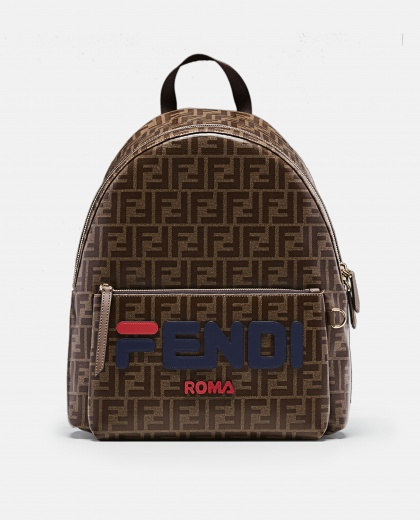 Fendi Logo Backpack