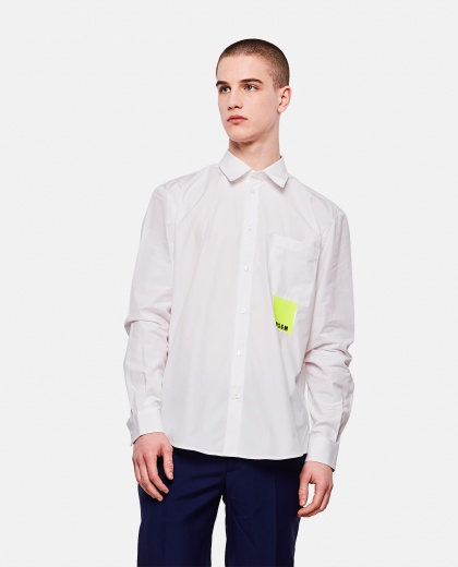 Cotton poplin MSGM shirt