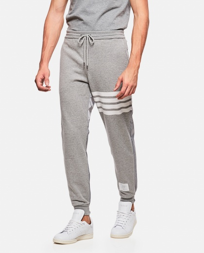 Sport trousers with stripes