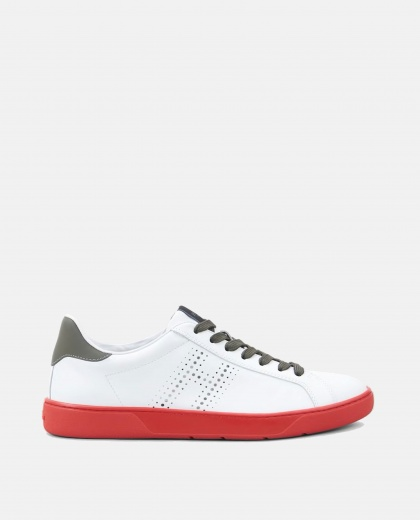 H327 leather sneakers