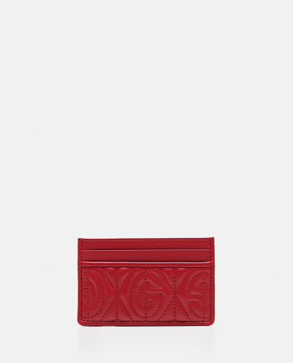 Card holder with monogram