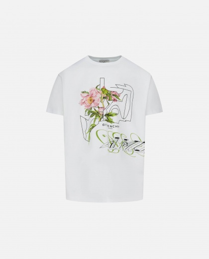 T-shirt with floreale print